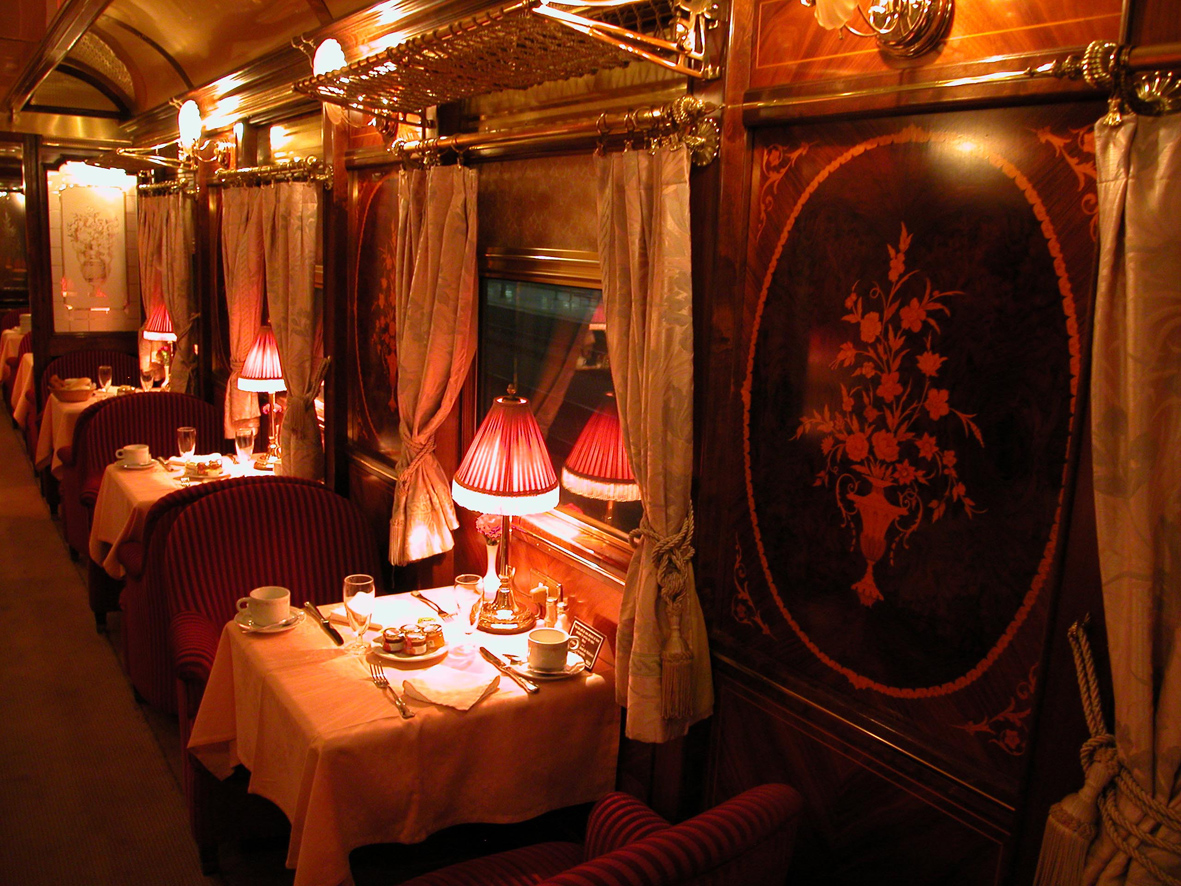 Al Andalus luxury train in southern Spain