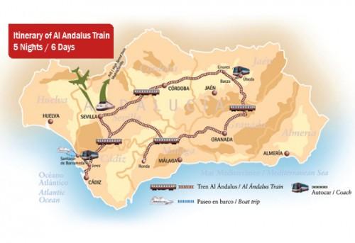 Al Andalus Spain Dates Prices Luxury Train Club