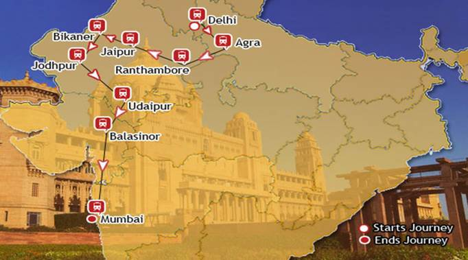 Maharajas express india the luxury train club for Cabine in delhi la