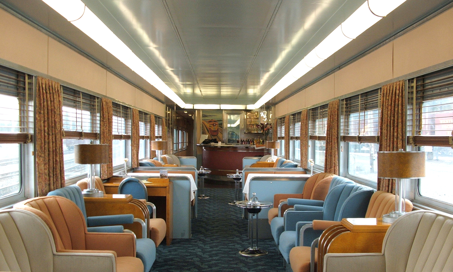 Luxury Train Club Private Rail Cars For Hire