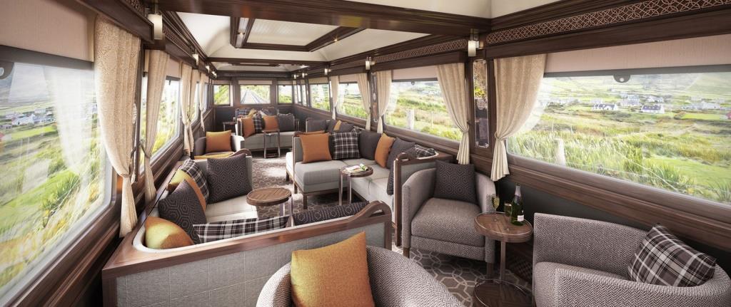 Belmond grand hibernian ireland the luxury train club for Luxury train trips europe
